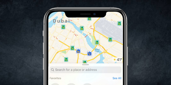 Know how to clear iPhone Map history