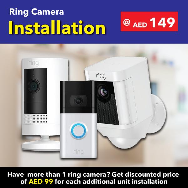 Quality Ring camera Installation in UAE